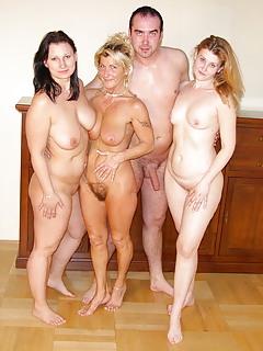 Frisky naked wife